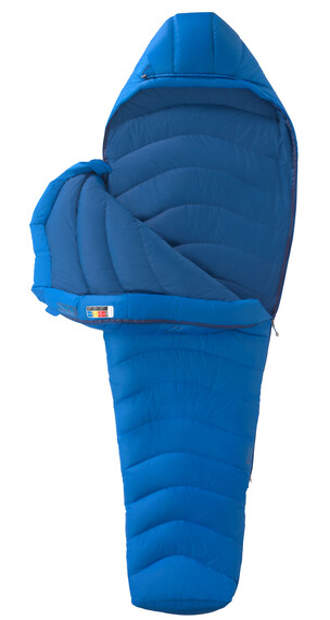 Marmot Helium Slaapzak Regular blauw